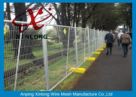 चीन Free Standing Temporary Fencing Panels For Building Site Simple Design आपूर्तिकर्ता