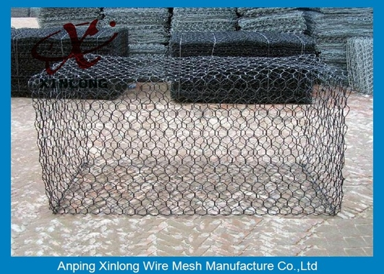 चीन Green Silver Welded Mesh Gabions Wire Cages For Rock Retaining Walls आपूर्तिकर्ता