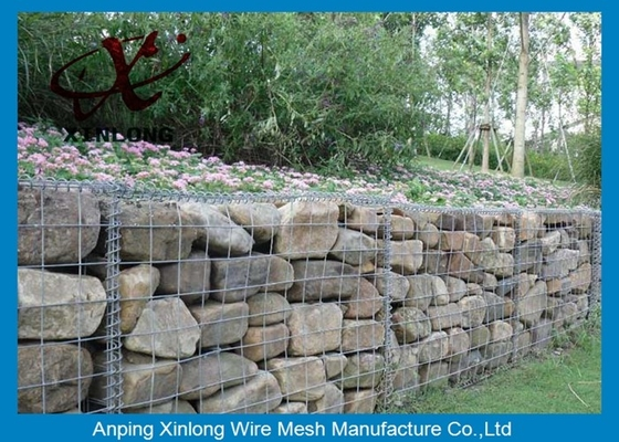 चीन Construction Gabion Basket Wall Gabion Rock Wall Cages With ISO90000 / 2008 Certificate आपूर्तिकर्ता