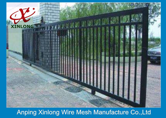 चीन Eco Friendly Motorised Sliding Gate , Electric Entrance Gates Convenient Install आपूर्तिकर्ता