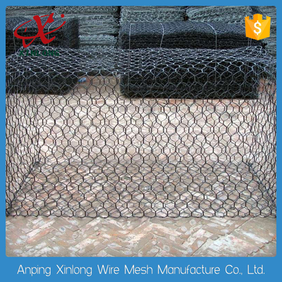 चीन Customized Gabion Wire Mesh Wire Cages For Rock Retaining Walls 2.0~3.7mm आपूर्तिकर्ता
