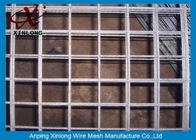 चीन Easily Assembled Galvanized Welded Wire Mesh Fence For Concrete Plain Weave Style कंपनी
