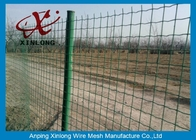 चीन Commercial Horizontal Fence Panels , Holland Wire Mesh PVC Coated फैक्टरी